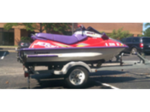 96 KAWASAKI 11002XI 2 Person Jet Ski Runs Perfect 69 Hours Perfect Condition 847-858-7594 2795 O