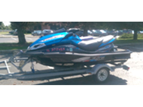 12 KAWASAKI ULTRA 300X One Owner Low Hours Supercharged Perfect Condition Aluminum Trailer Avail