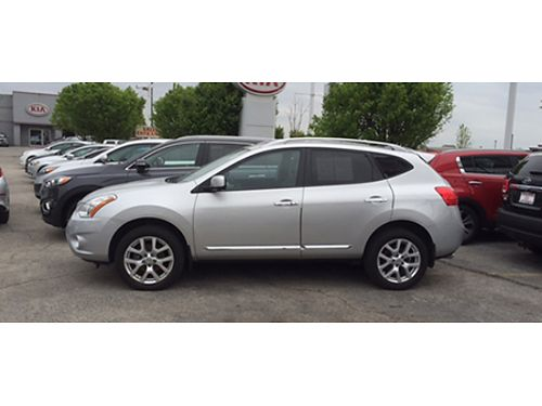 13 NISSAN ROGUE SL AWD Navigation Heated Leather CD Moonroof Alloys Full Range Camera 866-383-