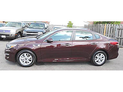 16 KIA OPTIMA FE Only 2k Miles Full Power Auto CDMP3 Dual Zone Traction Alloys Save From New