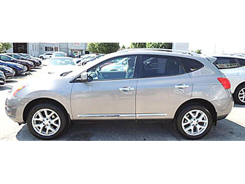 13 NISSAN ROGUE SL Navigation Heated Leather CD Moonroof Alloys 866-383-7542 17154A 15995