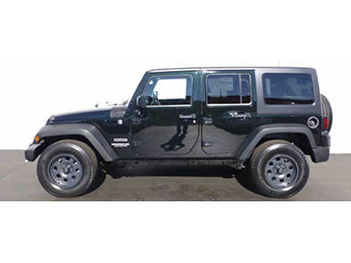 12 JEEP WRANGLER UNLTD SPORT One Owner 31K Miles Two Tops Two Sets Of Wheels Call WConfidence