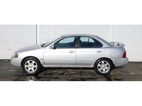06 NISSAN SENTRA SPECIAL EDITION Local Trade LOOW PRICE Full Power Options Call With Confidence