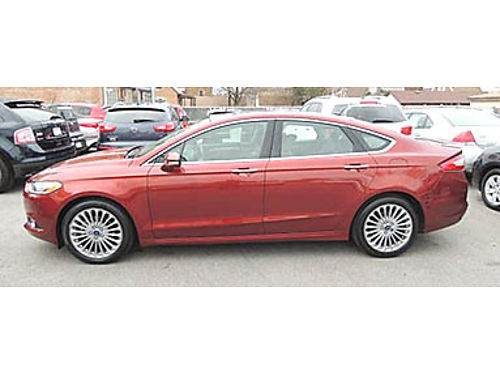 14 FORD FUSION TITANIUM Luxury Loaded Heated Leather CD Moonroof Alloys 866-383-7542 161478A