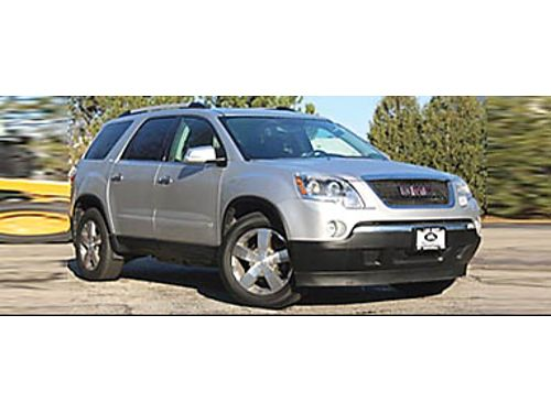 10 GMC ACADIA SLT1 AWD Low Miles Nicely Equipped With Remote Keyless Entry Leather Heated Seats M