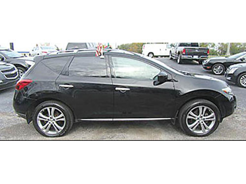 09 NISSAN MURANO LE AWD Double Panoramic Black Leather Navigation Flawless And Royalty Easy To F