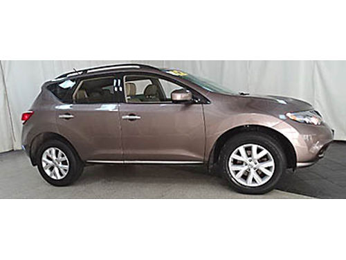 12 NISSAN MURANO SL AWD One Owner Low Miles Navigation Leather Luxury Package Se Habla Espanol
