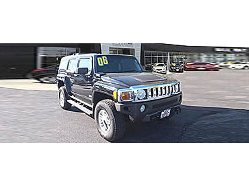 06 HUMMER H3 4WD Rule The Road Leather Power Clean Nice 866-291-2029 P14487 14995