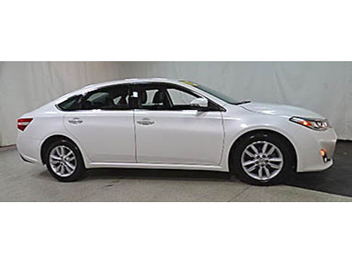 15 TOYOTA AVALON PREMIUM Super Low Miles Leather Moonroof Toyota Certified One Owner Se Habla E