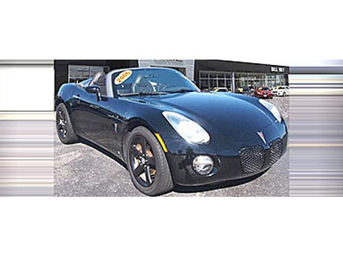 06 PONTIAC SOLSTICE CONVT Ready For Some Fun Low Miles Leather P14481 866-291-2029 8823