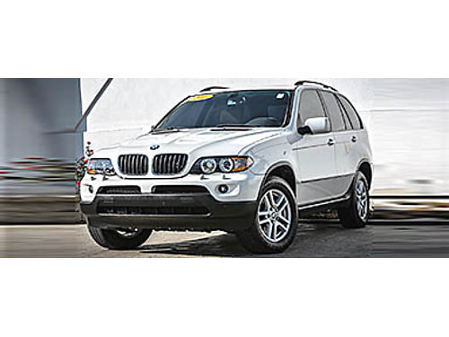 06 BMW X5 30I PREMIUM AWD Full Of Luxury  Style Sunroof Heated Seats Beautiful 855-875-8075 P