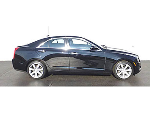 13 CADILLAC ATS 25L Only 33K Miles One Owner Leather Heated Seats Luxury Loaded Call With Confi