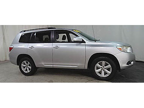 08 TOYOTA HIGHLANDER LE 4WD Only 67000 Miles 67000 Miles One Owner 3rd Row All Power Options