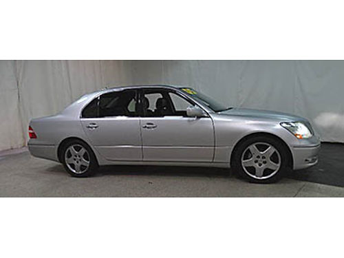 05 LEXUS LS430 One Owner Navigation Leather Lexus Luxury Package Ultra Clean Se Habla Espanol