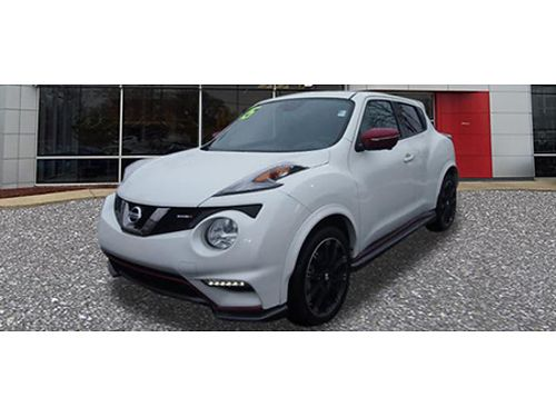 15 NISSAN JUKE NISMO Fully Equipped Back Up Camera Auto 866-393-8791 N6182 20555