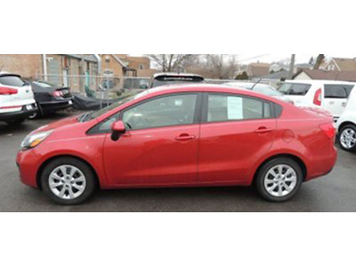 13 KIA RIO GDI 46K Miles Full Power Auto CdMp3 Great On Gas Active Eco 866-383-7542 161432A
