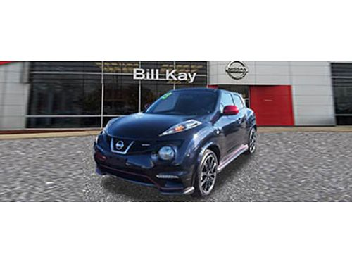 13 NISSAN JUKE NISMO Sapphire Black One Owner Fun Priced To Sell 866-393-8791 N6189 17555