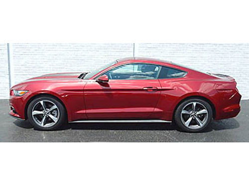 15 FORD MUSTANG V6 One Owner Locally Owned Back Up Camera Power Options Call With Confidence Se