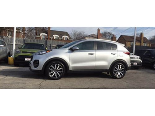 17 KIA SPORTAGE EX 10K Miles Fully Loaded Heated Leather MP3 Alloys Fresh New Design 866-383-7
