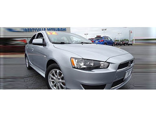 12 MITSUBISHI LANCER SE AWD Only 41000 Miles One Owner Mitsubishi Dealer Mitsubishi Inspected P