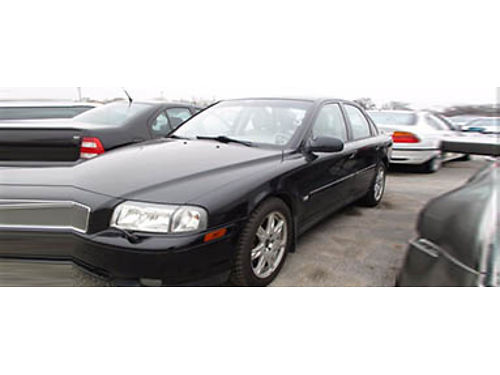 02 VOLVO S80 T6 Easy To Own Leather Sunroof 708-333-2266 1600