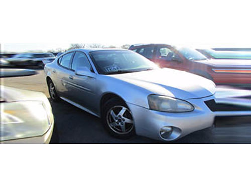 04 PONTIAC GRAND PRIX GT2 Sunroof Power Sporty 708-333-2266 1700