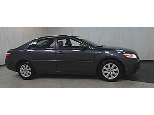 09 TOYOTA CAMRY HYBRID Only 76000 Miles One Owner Leather Moonroof Premium Se Habla Espanol W
