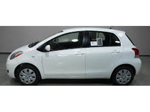 11 TOYOTA YARIS Well Kept Local Trade Legendary Toyota MPGs Very Reliable And Very Very Clean S