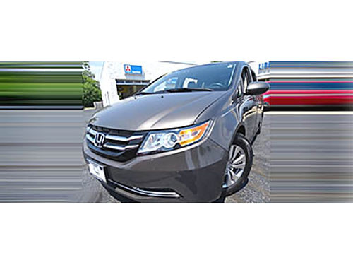 14 HONDA ODYSSEY EX-L Family Ready One Owner Loaded With Heated Leather Moonroof Premium Audio