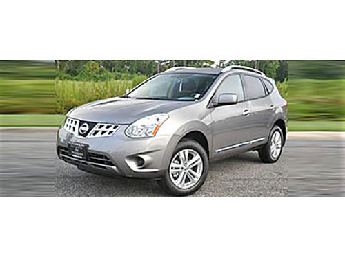 13 NISSAN ROGUE SV AWD Clean Carfax A Non-Smoker Keyless Entry Satellite Radio Cd Alloys Very