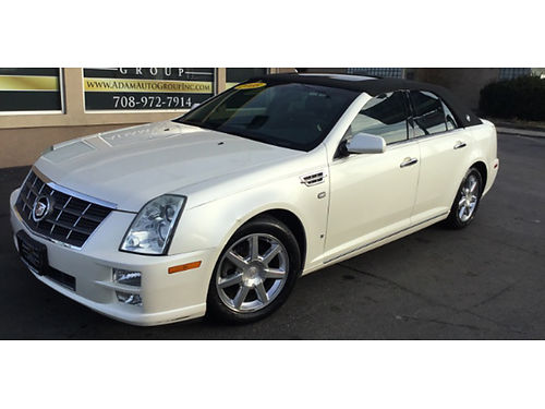 08 CADILLAC STS V6 Heated Leather Every Luxury Option Low Miles Carriage Top