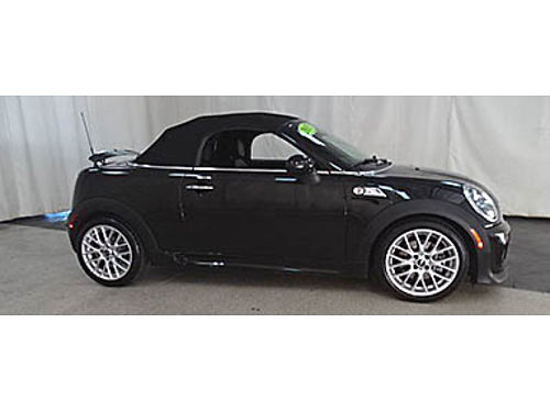 15 MINI ROADSTER S Only 20k Miles One Owner Leather Rare Find 847-235-7408 B23659A 21990