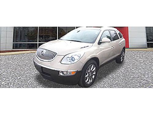 10 BUICK ENCLAVE CXL AWD V6 Fully Loaded Sunroof A Beauty 866-393-8791 N1745010A 13999