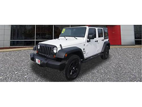 13 JEEP WRANGLER UNLTD SPORT Turn Heads AC Tow Package Bluetooth Endless Fun 866-393-8791 N17