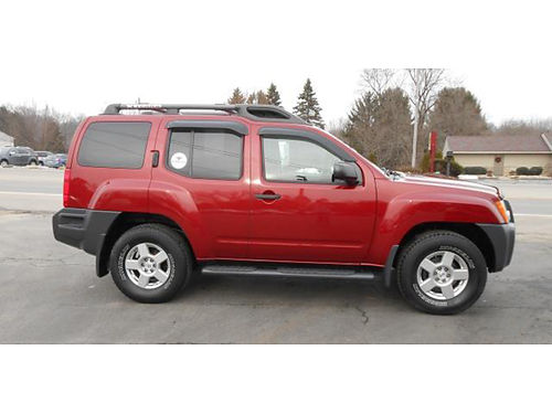 08 NISSAN XTERRA S 4X4 Fully Equipped Well Kept Power Clean Great Buy D1740052B 866-393-8791