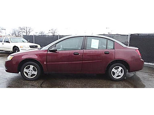 03 SATURN ION Good Low Miles Fully Loaded Very Clean Se Habla Espanol 866-399-4240 5311A 2395