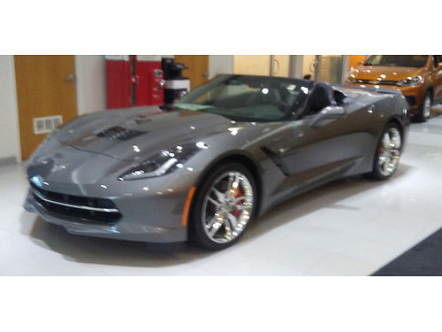 16 CHEVY CORVETTE Z51 CONVERTIBLE V8 82MSRP What A Deal Mint Condition Nav