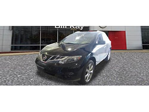 13 NISSAN MURANO LE V6 Save In Style Fully Equipped 866-393-8791 N1780006A 18444