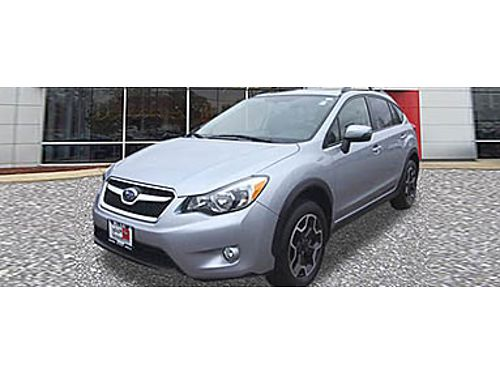 15 SUBARU XV CROSSTREK LIMITED Ready For An Adventure Leather Automatic Great Buy 866-393-8791