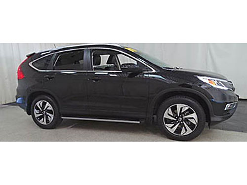 16 HONDA CR-V TOURING AWD One Owner 10000 Miles Leather Moonroof Touring Why Buy New Se Habla
