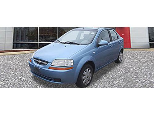 05 CHEVY AVEO Budget Friendly Sips Gas N1690043A 866-393-8791 3999