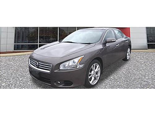 12 NISSAN MAXIMA 35 Great Value Sunroof Clean 866-393-8791 1720035A 15999