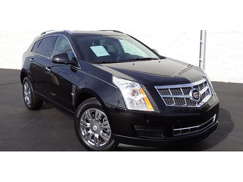 10 CADILLAC SRX LUXURY Only 66k Miles On This CarFax One Owner Beauty BlackBla