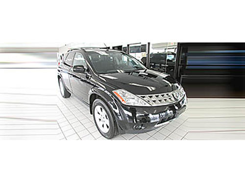07 NISSAN MURANO SL Low Miles  Luxury Loaded Black On Black Every Option Your Job Is Your Credit