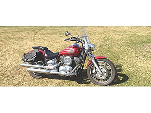 06 YAMAHA V-STAR 1100 Only 3000 Miles Floor Boards Saddle Bags Windshield 630-476-0209 4000