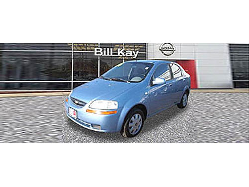 05 CHEVY AVEO Sips Gas Budget Friendly 866-393-8791 N1690043A 3999