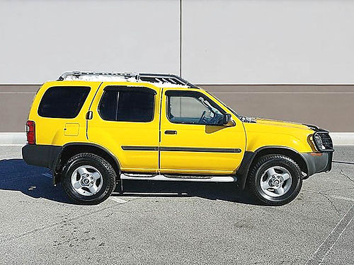 02 NISSAN XTERRA SE SC Only 62000 Miles Wow One Owner Supercharged 29408NA 866-395-0979 CALL