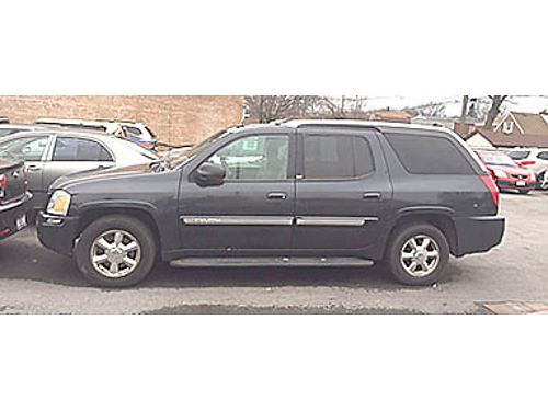 04 GMC ENVOY XUV SLT 4X4 Heated Leather CD Moonroof Alloys Rare Find 866-383-7542 17501A 999