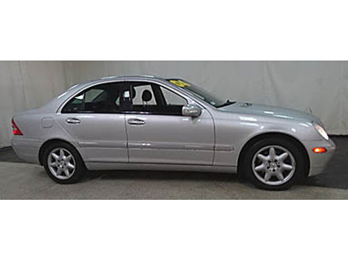 04 MERCEDES C320 4MATIC Low Miles Leather Moonroof Immaculate Condition Se Habla Espanol Was 1