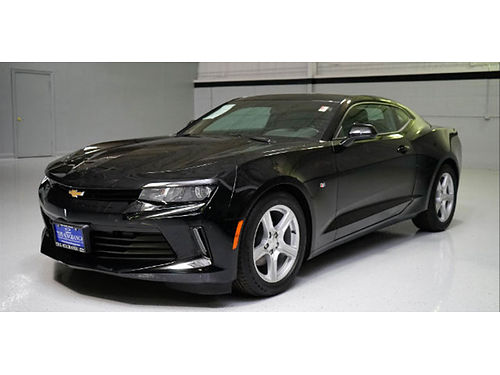 17 CHEVY CAMARO 1LT COUPE Black on Black Still In The Wrapper 900 Miles Moonr